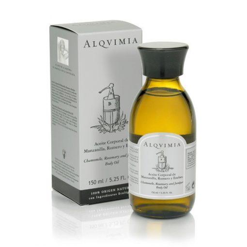 aceite corporal de manzanilla romero y enebro