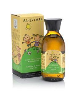 aceite corporal para ninos y bebes