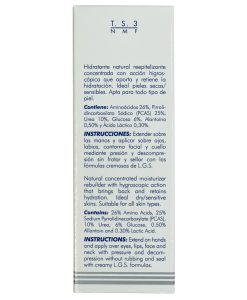 Hidratante Natural Líquido Lamdors TS3