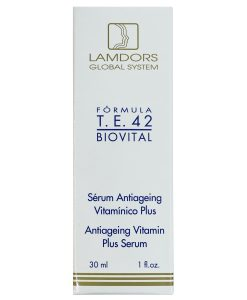 Serum Antiageing Vitamínico Plus T.E.42 BIOVITAL Lamdors