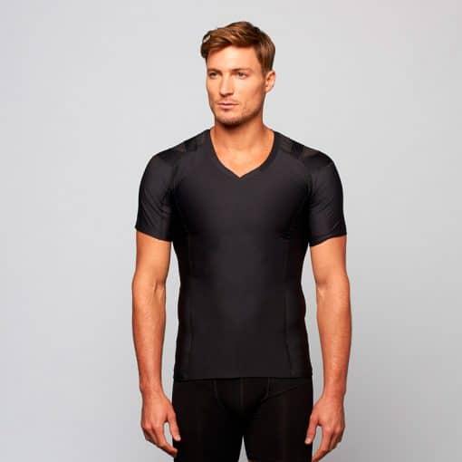 Men's-Posture-Shirt-Core_Front_Black