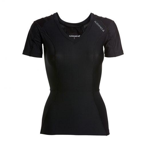 Women's-Posture-Shirt-CORE_Black_Front-product