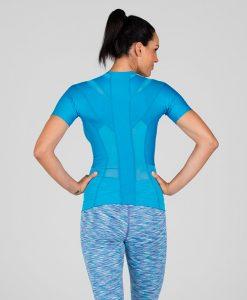 Women's-Posture-Shirt-CORE_Blue_Back-model