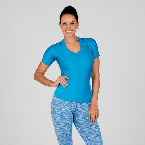 Women's-Posture-Shirt-CORE_Blue_Front-model