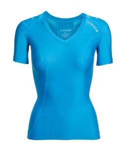 Women's-Posture-Shirt-CORE_Blue_Front-product