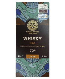 Barra de Chocolate Sabor Whisky